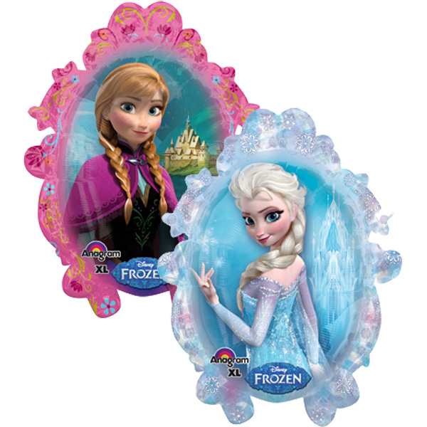 Disney Frozen Supershape Foil Balloon - 2 sided design