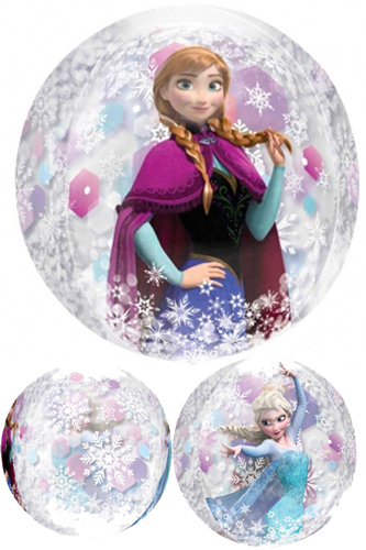 Frozen Orbz Bubble Balloon