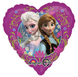 "Frozen 18"" Heart Foil Balloon"