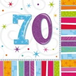 70th Radiant Lunch Napkin