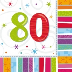 80th Radiant Lunch Napkin
