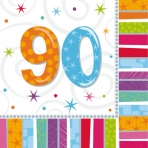 90th Radiant Lunch Napkin