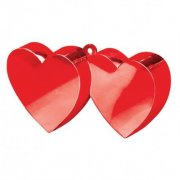 Red Double Heart Weight