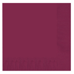 Burgundy Lunch Napkins (16 Pack)