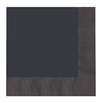 Black Lunch Napkins (20)
