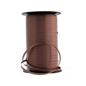 Brown 5mm Curling Ribbon 500yds