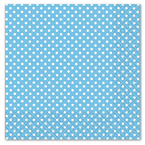Blue Spotted Lunch Napkin(20)