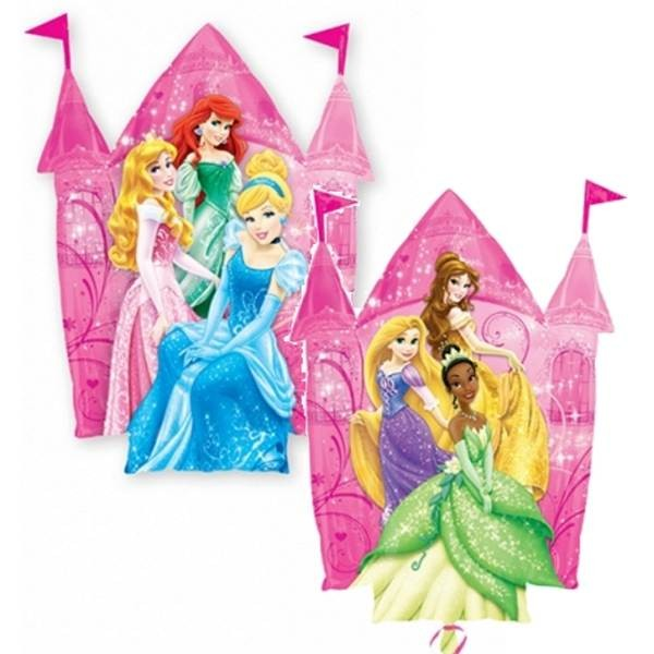 Supershape Disney Princess Castle Foil Balloon