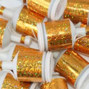 Gold Holographic Party Poppers (20)