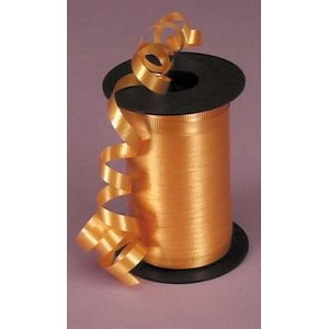Peach 5mm Curling Ribbon (500m)