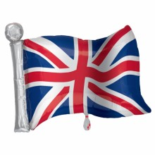 Supershape Union Jack Foil Balloon