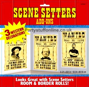 Wanted Poster Add-on Scene Setter