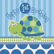 Happy First Birthday Turtle Boy