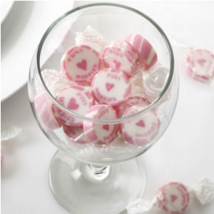 Mr & Mrs Pink Rock Sweets