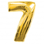 Supershape Gold No 7 Balloon