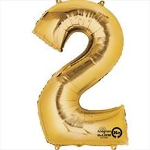 Supershape Gold No 2 Balloon