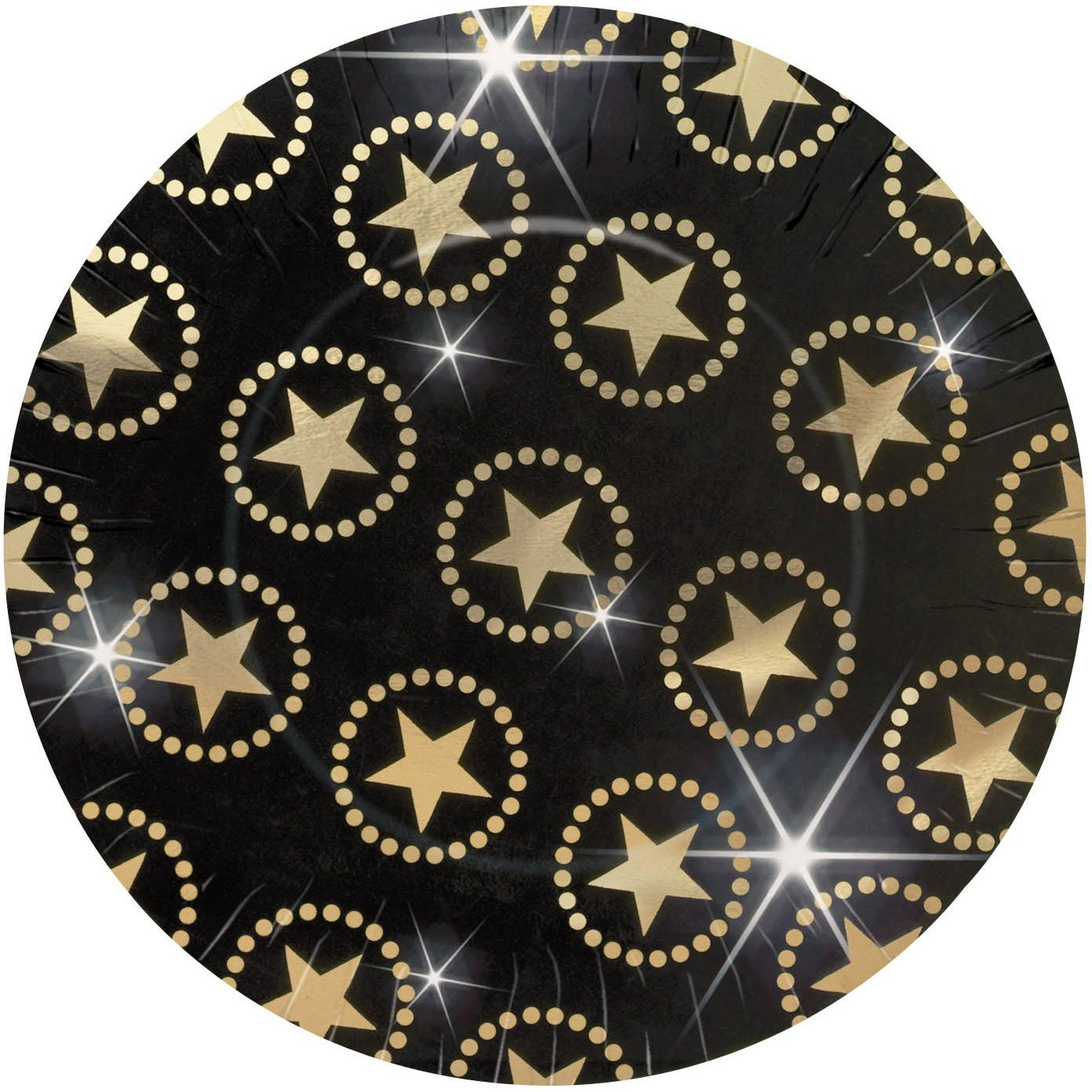 Hollywood Star Attraction Paper Plates Pk 8