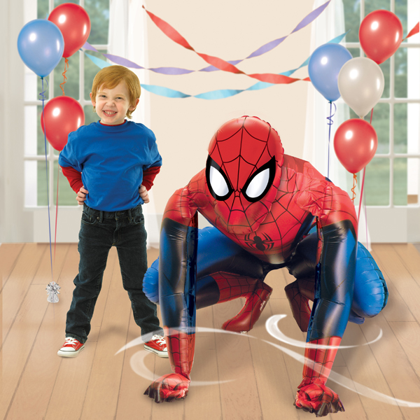 Spiderman Airwalker Foil Balloon