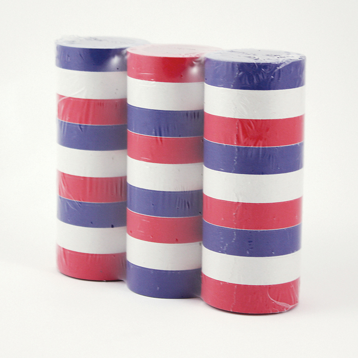 Red/ White/Blue Paper Streamers ((9)