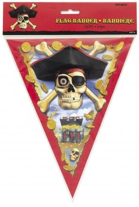 Pirate Pennant Bunting