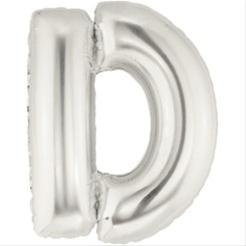 Supershape Letter D Foil Balloon