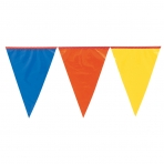 Multicoloured Pennant Bunting