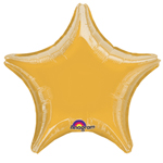 "19"" Metallic Gold Star Foil Balloon"