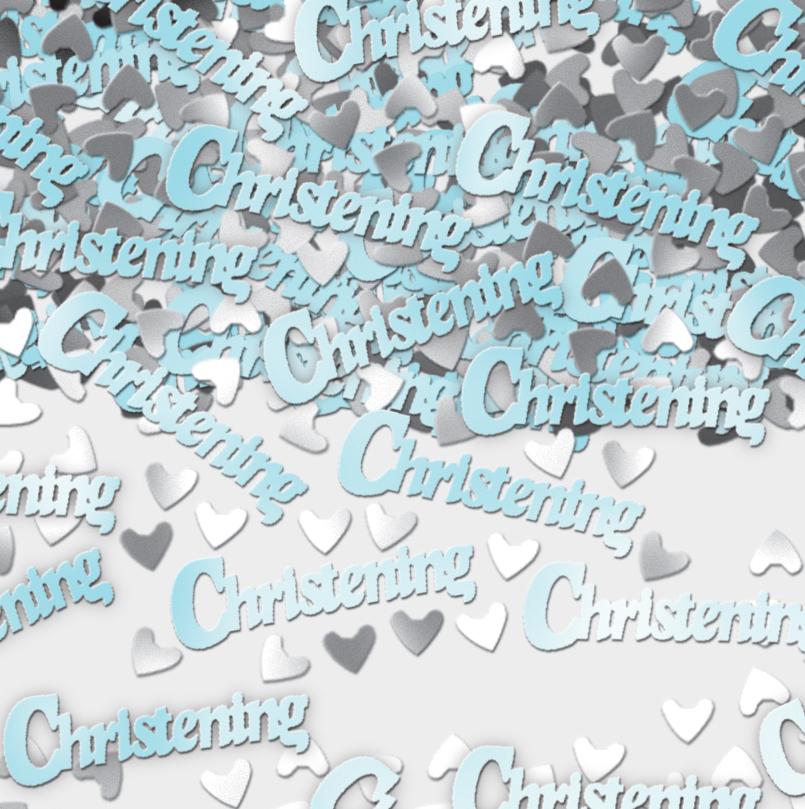 Christening Confetti Blue