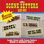 6 Western Signs Scene Setter Add Ons