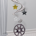 Stars On Film Super Swirl Hanging Decoration