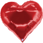 Casino Heart Balloon