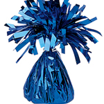 Blue Foil Tassle Weight