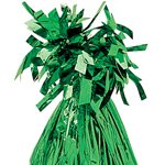 Green Foil Tassle Weight