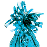 Pale Blue  Foil Tassle Weight