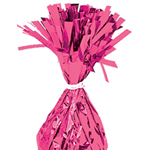 Magenta Foil Tassle Weights