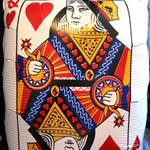 Playing Card Foil Balloon