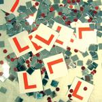 Hen Party L Plate Confetti