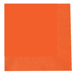 Orange Lunch Napkins (20)