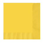 Yellow Lunch Napkins (16)