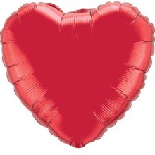 "18"" Red Heart Foil"