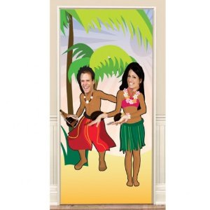 Hawaiian Photo Fun Door Banner