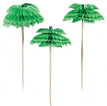 Palm Tree Honeycomb Picks (12)