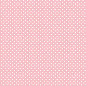 Pink Spotted Lunch Napkins (20)