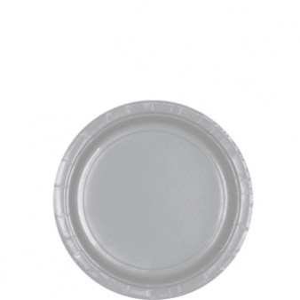 Silver Paper Plates (16)