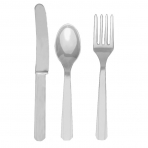 Silver Cutlery (For 6)