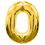 Supershape Gold No 0 Balloon